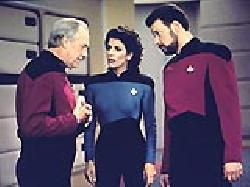 Chain of Command, Part I episode synopsis,reviews,forums,photos,Elementary, Dear Data episode synopsis,Family episode synopsis,The Bonding episode synopsis,Encounter at Farpoint, Part I episode synopsis,Attached episode synopsis